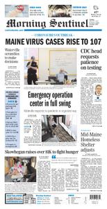 Morning Sentinel – March 24, 2020