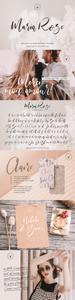 CreativeMarket - Maria Rose Elegant Hand Written Script SVG Font 3727769