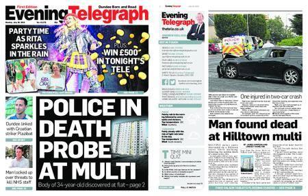 Evening Telegraph First Edition – July 30, 2018
