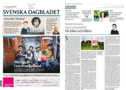 Svenska Dagbladet – 23 september 2018