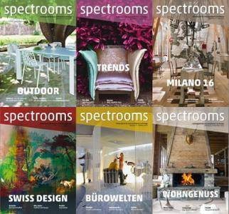 Spectrooms Magazin - 2016 Full Year Issues Collection