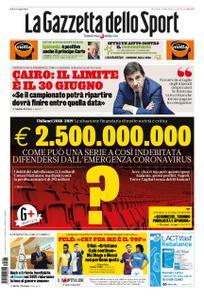 La Gazzetta dello Sport Sicilia – 26 marzo 2020