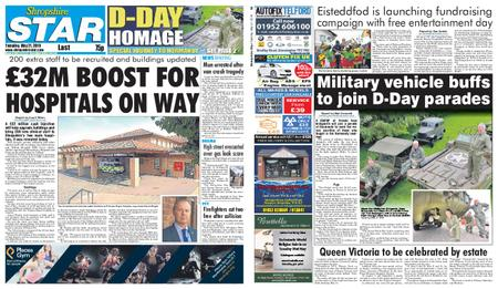 Shropshire Star Last Telford Edition – May 21, 2019
