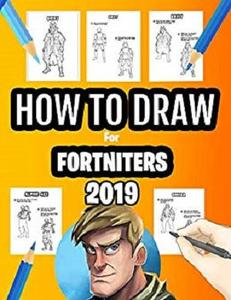 How to Draw Book for Fortniters: Let's Draw and Color The Characters & Skins
