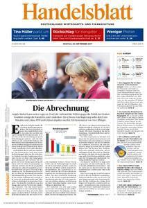 Handelsblatt - 25. September 2017
