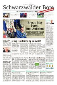 Schwarzwälder Bote Hechingen - 27. Februar 2019