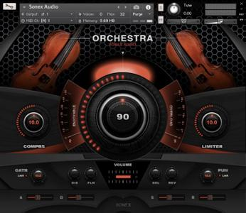Sonex Audio Strings Ensemble KONTAKT