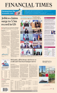 Financial Times Europe - March 27, 2020