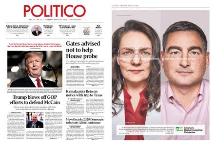 Politico – March 21, 2019