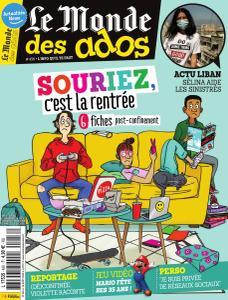 Le Monde des Ados - 26 Août 2020