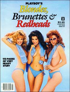Playboy Special Editions - Blondes, Brunettes & Redheads 1985