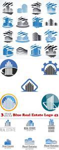 Vectors - Blue Real Estate Logo 43