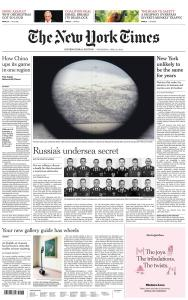 International New York Times - 22 April 2020
