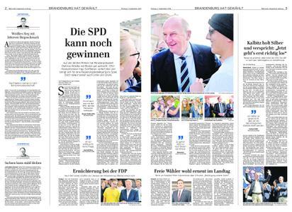 Märkische Allgemeine Fläming Echo - 02. September 2019