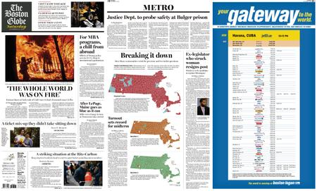 The Boston Globe – November 10, 2018