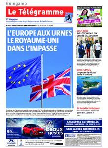 Le Télégramme Guingamp – 25 mai 2019