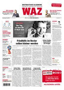 WAZ Westdeutsche Allgemeine Zeitung Oberhausen-Sterkrade - 21. Juni 2018