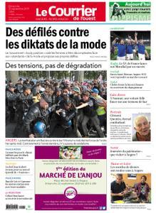 Le Courrier de l'Ouest Nord Anjou – 22 septembre 2019