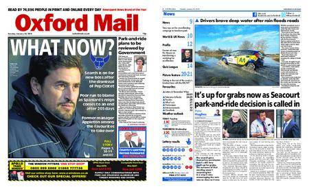 Oxford Mail – January 23, 2018