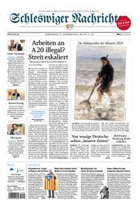 Schleswiger Nachrichten - 27. Dezember 2018