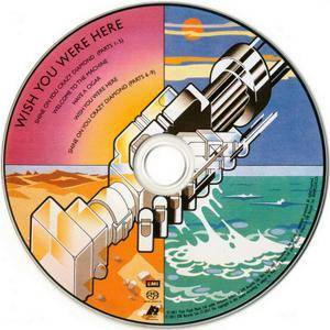 Pink Floyd - Wish You Were Here (1975) {2011, SACD, Remastered} CD-Layer