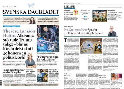 Svenska Dagbladet – 14 december 2017