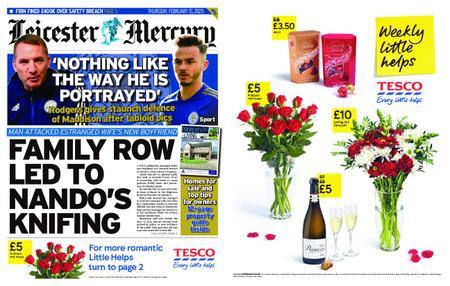 Leicester Mercury – February 13, 2020