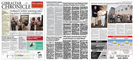 Gibraltar Chronicle – 19 July 2019