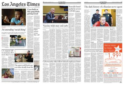 Los Angeles Times – September 03, 2020