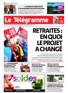 Le Télégramme Concarneau – 24 janvier 2020