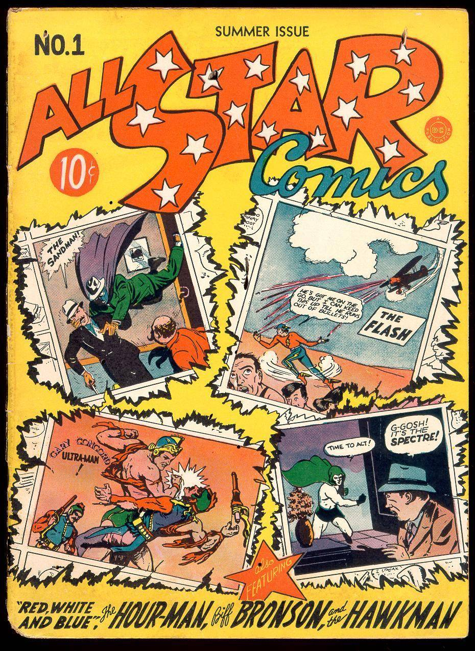 All-Star Comics 001 1940