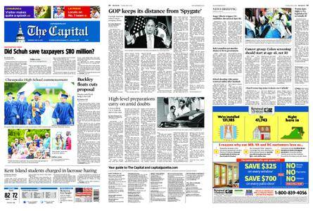 The Capital – May 31, 2018