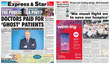 Express and Star Sandwell Edition – June 24, 2019