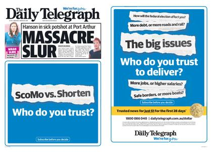 The Daily Telegraph (Sydney) – March 28, 2019