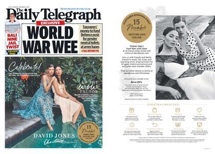 The Daily Telegraph (Sydney) – November 15, 2018