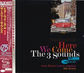The Three Sounds - Here We Come (1960) {2015 Japan SHM-CD Blue Note 24-192 Remaster UCCQ-5091}