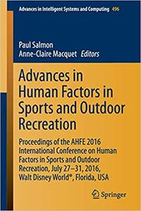 Advances in Human Factors in Sports and Outdoor Recreation (Repost)