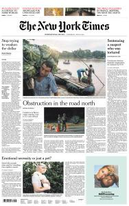 International New York Times - 26 June 2019