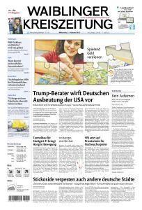 Waiblinger Kreiszeitung - 1 Februar 2017