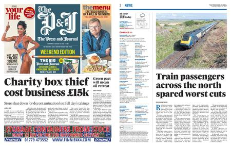 The Press and Journal Moray – August 21, 2021
