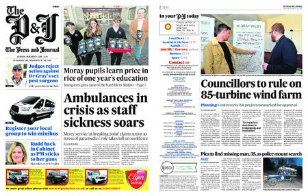 The Press and Journal Moray – November 17, 2018