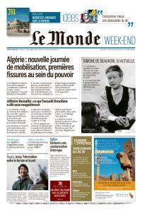 Le Monde du Samedi 9 Mars 2019