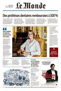 Le Monde du Mardi 5 Juin 2018