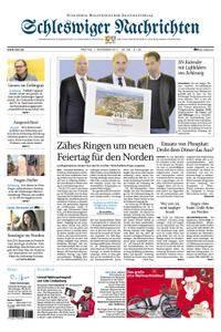 Schleswiger Nachrichten - 01. Dezember 2017