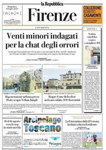 la Repubblica Firenze - 12 Luglio 2020