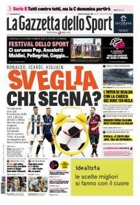 La Gazzetta dello Sport Roma – 13 settembre 2018