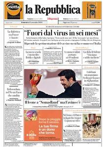 la Repubblica - 13 Settembre 2020