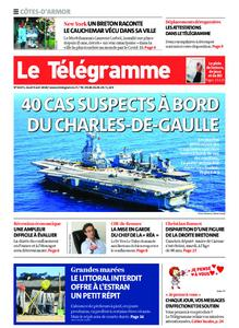 Le Télégramme Guingamp – 09 avril 2020