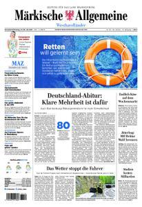 Märkische Allgemeine Westhavelländer - 27. Juli 2019