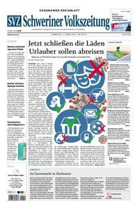 Schweriner Volkszeitung Hagenower Kreisblatt - 17. März 2020